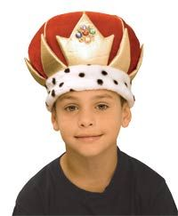 Child Std Kids King Crown King and Queen Costumes
