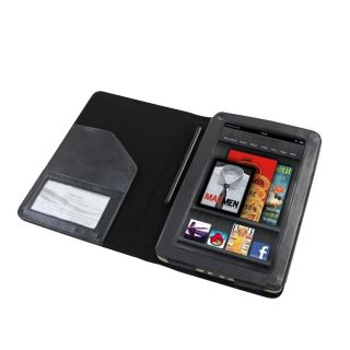 Kindle Fire Black Folio Case Cover for Kindle Fire Screen Guard