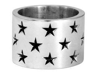 King Baby Studio mens Wide band with stars ring *SHOWROOM SALE* K20
