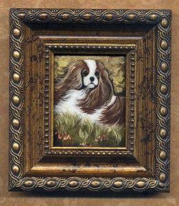 Cavalier King Charles Spaniel Dog Framed Print