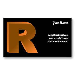 Your Name, name@hotmailwBusiness Card Template