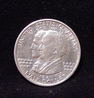 1921 Alabama Centennial Commemorative Silver Half Dollar Extra Fine