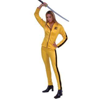 Kill Bill Vol 1 Beatrix Kiddo The Bride Adult Halloween Costume Size