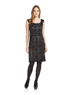 Planet Charcoal lace shift dress Charcoal