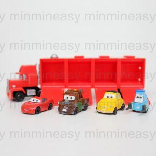 Takara Tomy Disney Pixar Cars Part 1 World of Cars Figure Set of Five