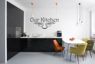 Our Kitchen Kitchen Wall Decal Sticker Quote Vinyl Art Lettering Large