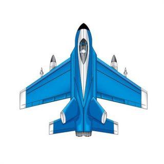 Kites Microkite Mini Mylar Kite Fighter Jet