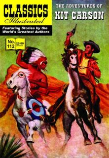 Classics Illustrated 112 Kit Carson HRN 171