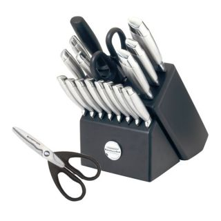 KitchenAid 18 Piece Stainless Steel Cutlery Block Set