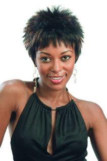 Kiwi Short Spike Wig by Motown