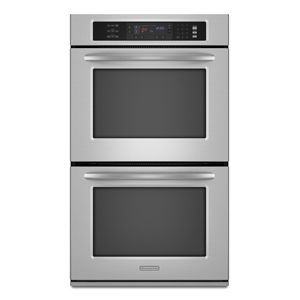 KitchenAid KEBS208SSS 30 Double Convection Oven