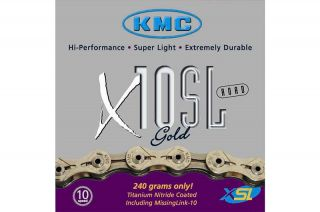 New KMC X10SL Superlight Chain Link Fits Shimano SRAM Campagnolo Gold