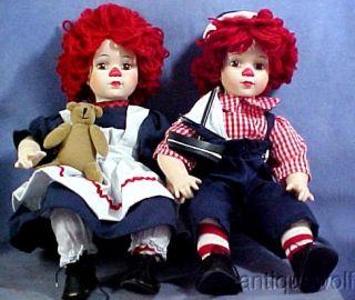 - 162231519_knickerbocker-co-raggedy-ann-andy-dolls-porcelain-with-