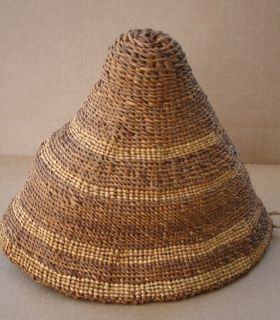 Vintage Klamath Falls Modoc Native American Indian Hat or Gathering