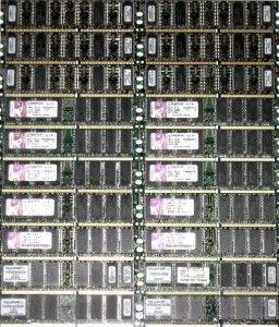Kingston Memory 256MB DDR Memory RAM 20 Sticks
