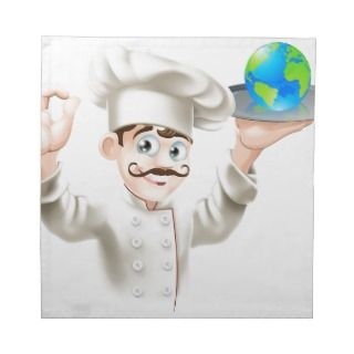 World on a plate cloth napkins