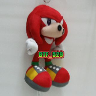 New SONIC Plush Doll Figure ( 7 Hedgehog Knuckles ) x