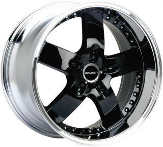 Falken Koblenz 20 Black Wheels BMW 3SERIES x5 Camaro Equinox Cadillac