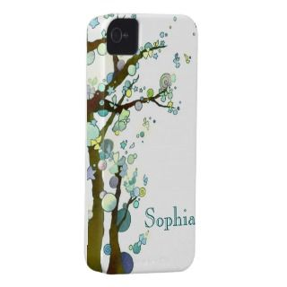 Lyrical Trees iPhone 4/4S Case Mate Barely There iPhone 4 Case Mate