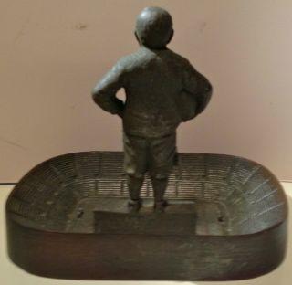 Vintage Knute Rockne Notre Dame Football Sportsmanship Statue