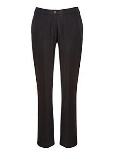 Precis Petite Black ponteroma trousers Black