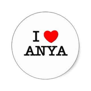 Love Anya Stickers