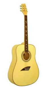 New Kona Cutaway Acoustic Guitar Model KG1FMN