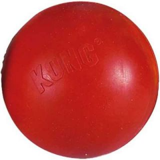 Kong Classic Rubber Ball Dog Fetch Tough Chew Toy Medium Large KB1