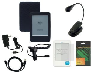 Premium Accessoy Bundle Combo for Kobo eReader E Ink 6 Display eBook