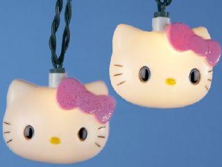 Hello Kitty Holiday Christmas Light Set with 10 Lights Holiday