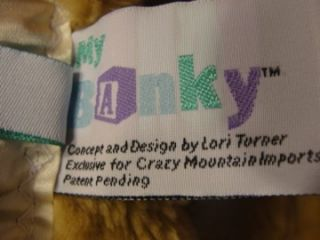 My Banky Spencer Lion Baby Blanket Big Brown Plush Kitty Cat Security