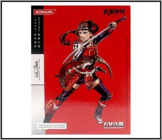 Konami Busou Shinki MMS Type Samurai Benio Girl Warrior Action Figure