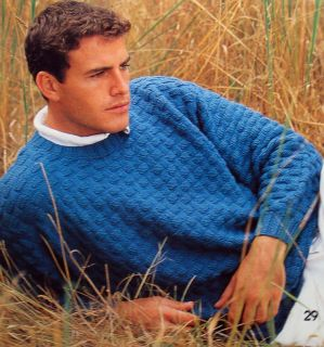 Knitting 34 Patterns Lace Fair Isle Jacquard Sweaters Cardigans