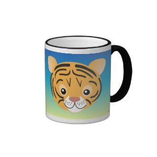 Cartoon Tiger Cub T Shirts, Cartoon Tiger Cub Gifts, Art, Posters, and