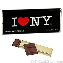 Dark Chocolate Bar (pack of 3 bars), New York Gift Baskets and Favors