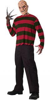 Freddy Krueger Mask Sweater Fancy Dress Costume