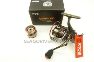 Ryobi Krieger 1000 Spinning Reel w Spare Spool Latest New Model