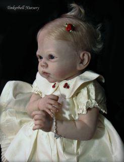Tinkerbell Nursery Reborn Baby Doll by Helen Jalland from Romie