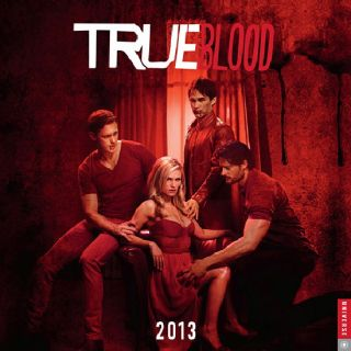 True Blood TV Series 2013 Vampire Wall Calendar New SEALED