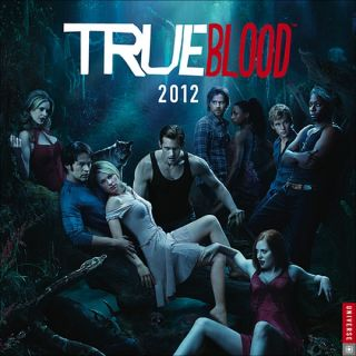 True Blood TV Series 2012 Vampire Wall Calendar SEALED