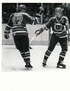 Wayne Gretzky Kurri 1987 Edmonton Oilers Sporting News Generation One