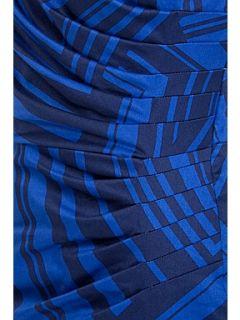 Alexon Blue alexa block print dress Blue