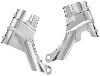Kuryakyn Neck Covers Chrome Harley Davidson FXSTD 00 07