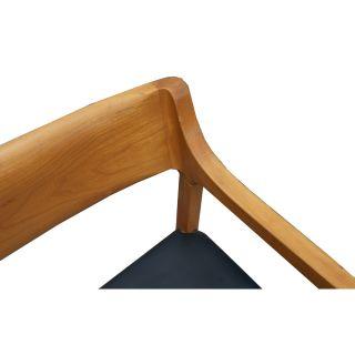 Mid Century Modern Krug Wood Arm Chairs