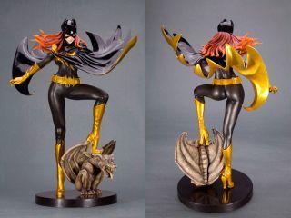 Kotobukiya DC Comics Bishoujo Statue Batgirl Black Costume Painted