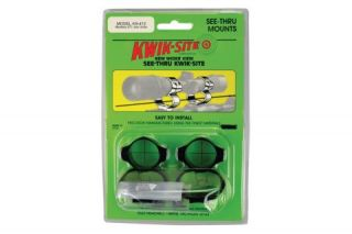 Kwik Site See thru Mounts Mossberg Lever Action Riflescope Mounts and