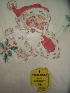 VINTAGE SS KRESGE FIVE & DIME STORE CREPE PAPER CHRISTMAS SANTA CLAUS