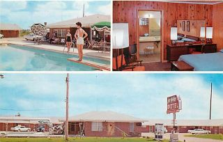 AR, Lake Village, Arkansas, La Villa Motel, Pool, Multi View, Dexter