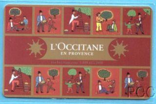 Occitane En Provence Harvest 2011 Gift Card