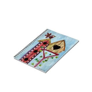 Bird House Note Book   Memories of Springtime